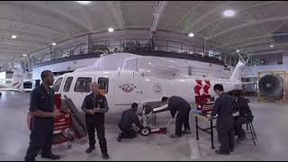 Welcome to the Hangar at Canadore College School of Aviation (360 Video)