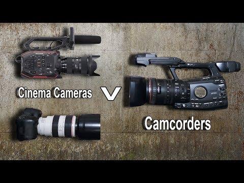 Filming Wildlife : Camcorders V DSLR. Mirrorless. Cinema Cameras