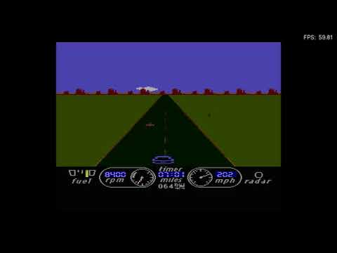 The Great American Cross Country Road Race! - Atari 800XL