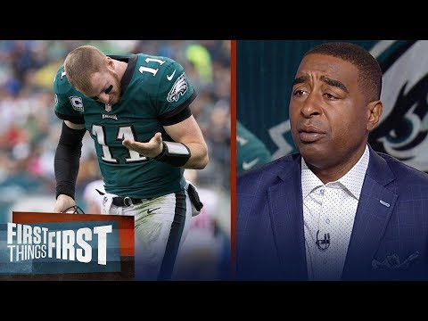 Cris Carter's concerns for the Eagles going into Week 9 vs. the Broncos | FIRST THINGS FIRST