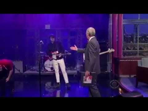 The Vaccines - If You Wanna (Late Show with David Letterman) 05/23/2011