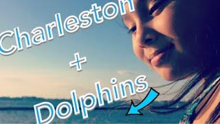 CHARLESTON SC- I GOT TO SEE DOLPHINS
