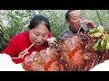 小北和阿芝上街买肉包饺子,13个人吃一顿只花了80块,太划算了Make dumplings【湘妹小北 ...