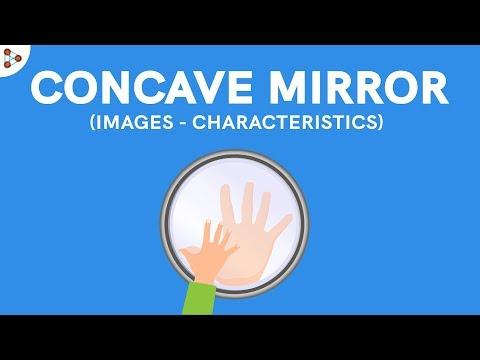 Concave Mirror Images - Characteristics - CBSE 10