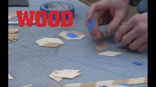 Making 3D Cubes with Veneer - Veneering with Marc Adams (part 7 of 11) - WOOD magazine