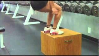 Fat Burning Box Jumps with Clifta Perez Reno Personal Trainer