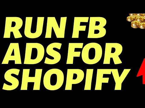 How To Run Facebook Ads For Shopify (TUTORIAL) thumbnail