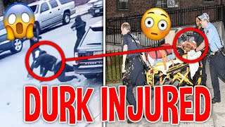 CHICAGO GOONS Pull Up On LIL DURK in Public *DURK INJURED*