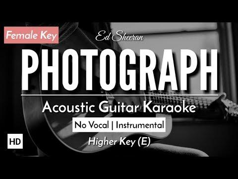 [karaoke]-photograph---ed-sheeran-[acoustic-guitar-+-lyric]