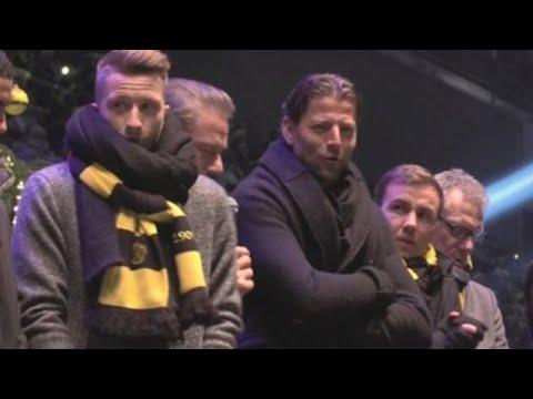 El Borussia Dortmund celebra la Navidad