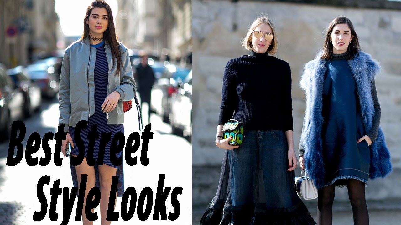 Best Street Style Looks From Paris Fashion Week Fall 2016 Part 2 Fashion Street Style Youtube
