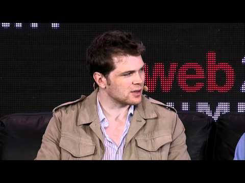 """Web 2.0 Summit:  Charlie Cheever and Adam D'Angelo, """"A Conversation with..."""""""