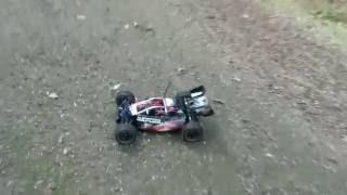 fs racing raptor rc baja buggy brushless forest bashing