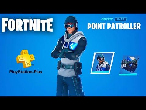 Fortnite FREE Playstation Plus Celebration Pack #2