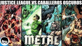 METAL: LA LIGA DE LA JUSTICIA VS LOS CABALLEROS OSCUROS   Bats Out of Hell (Parte 1) COMIC NARRADO thumbnail