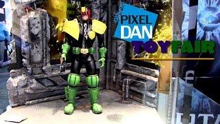Mezco Toys Product Walkthrough at Toy Fair 2015 - Mortal Kombat, Judge Dredd, more!