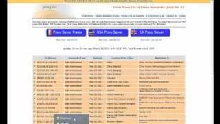 Free Proxy Scraper -
