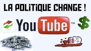 Parlons de la nouvelle politique YouTube sur les droits d