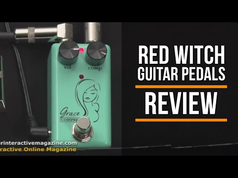 Red Witch Pedals Review   Seven Sisters Grace Comprosser & Fuzz God II
