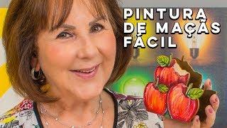 Como pintar maçãs no MDF - FÁCIL!