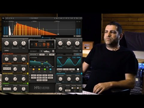 Exploring the H-Reverb Plugin with Yoad Nevo
