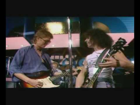 Marc Bolan and David Bowie Marc Show 1977
