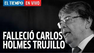 Arriba Bogotá En Vivo: Falleció el ministro de defensa Carlos Holmes Trujillo