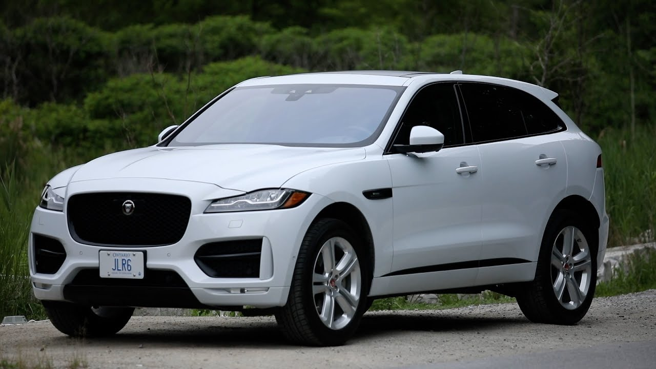 The F Pace Suv Is A Slam Dunk For Jaguar