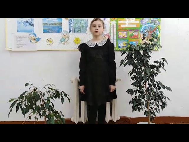 Изображение предпросмотра прочтения – ВасилисаГладких читает произведение «Черёмуха» С.А.Есенина