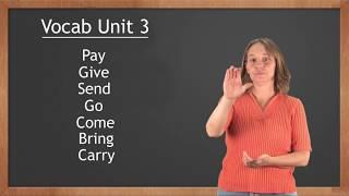 Американский жестовый язык Словарь 3 (спасибо, извините, подождите минутку, стул, телевизор)