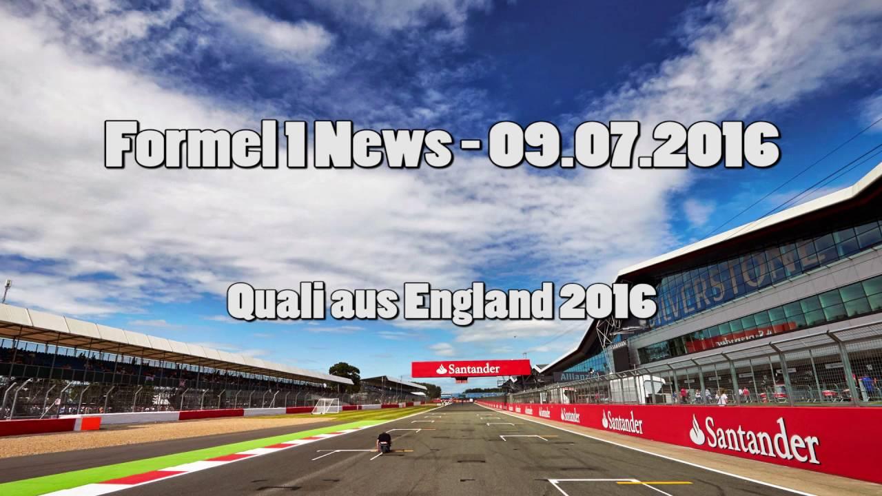 Formel 1 News - Quali aus England 2016 (09.07.2016)
