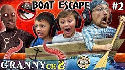 GRANNY'S HOUSE but no GRANNY!  Boat Escape + Grandpa God Mode (FGTeeV's Chapter 2 Pt. Two)
