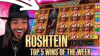 ROSHTEIN Win 37.000€  on Book of Ra slot - Top 5 Biggest Wins of week