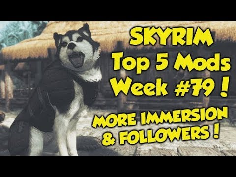 Skyrim Remastered Top 5 Mods of the Week #79 (Xbox One Mods) thumbnail