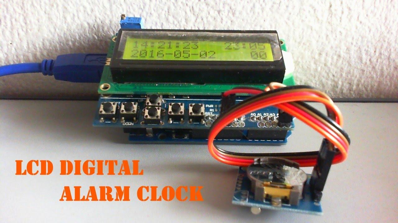 Arduino based LCD Digital Clock | Hackaday io