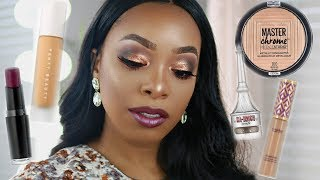 FULL FACE USING MY BEAUTY CURRENT FAVORITES | KYRA KNOX