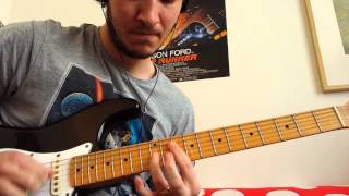 Iron Maiden - Innocent Exile (guitar solo cover)