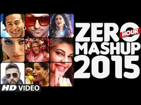 ZERO HOUR MASHUP 2015  Best of Bollywood  DJ Kiran Kamath | Lyrics