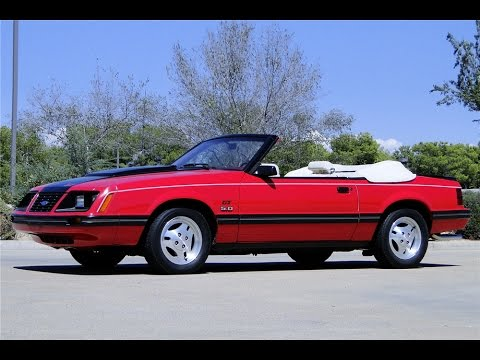 1983 ford mustang gt foxbody convertible sells at barrett. Black Bedroom Furniture Sets. Home Design Ideas