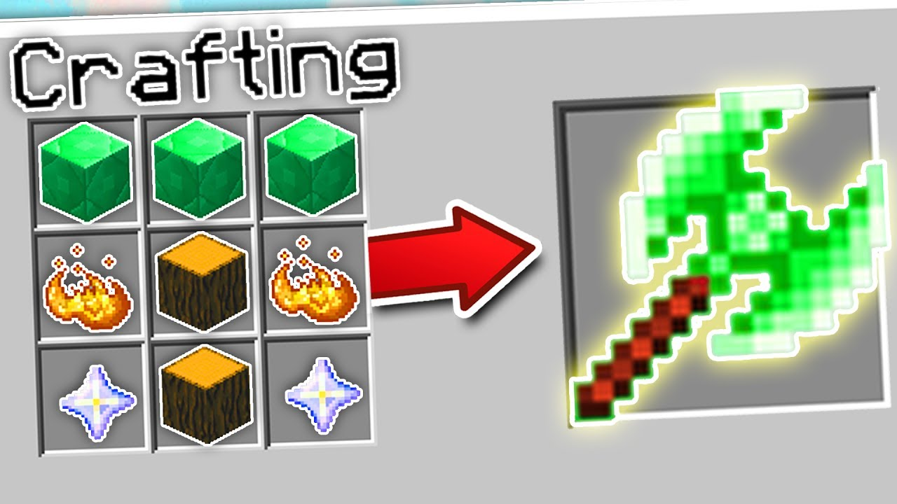 CRAFTING THE FASTEST AXE IN MINECRAFT?!