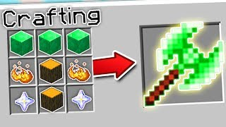 CRAFTING THE FASTEST AXE IN MINECRAFT?! | Minecraft Mods