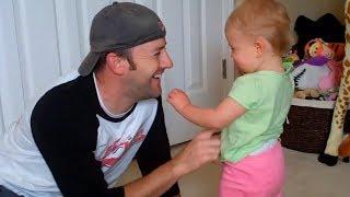 Sweet Baby And Dad Moments 😍 お父さんと赤ちゃんかわいいビデオ
