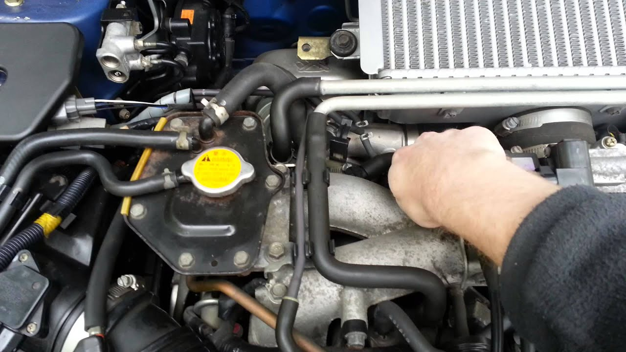 2002 Subaru Impreza Wrx Engine Amp Rev Youtube