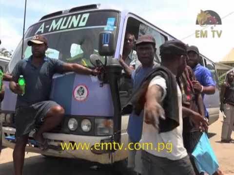 Five Kina Bus Crews, PMVs' on the Highways and the PNG Transport Sector
