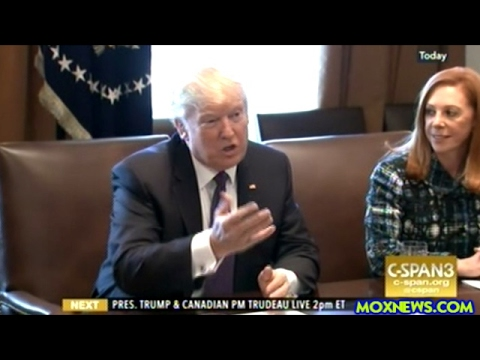 Ivanka Trump Joins President Trump And PM Justin Trudeau At Roundtable With Women Entrepreneurs