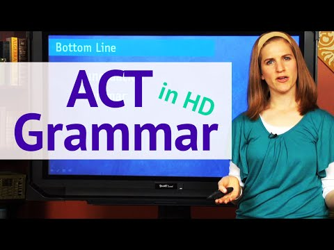 ACT Grammar - Top Punctuation Rules(HD) - Brightstorm ACT Prep