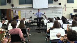 Concert F sustain with harmony, Creekside MS Wind Symphony, Carmel, IN