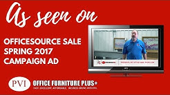 Officesource desks on sale now at PVI Office Furniture