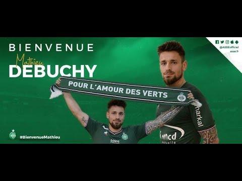 Mathieu Debuchy ASSE Officiel