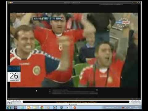 Отбор на Евро 2012 Ирландия 2 1 Армения Мхитарян